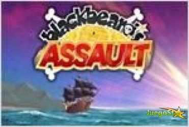 Juego  blackbeards assault asalto al barco pirata