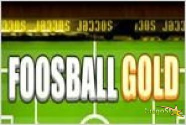 Juego  foosball gold metegol