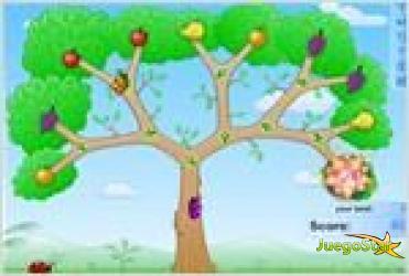 Juego  fruity bugs 2 bichitos de las frutas 2