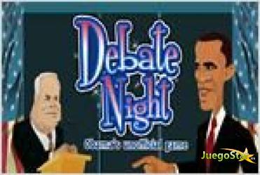 Juego  debate night obamas unofficial game noche de debate el juego de obama