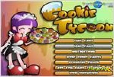 Juego cookie tycoon tienda de galletas