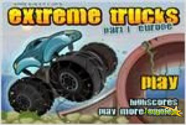 Juego extreme trucks parte 1 europe camiones extremos parte 1 europa